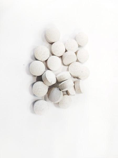 Calcium Tabletten - Schneckengehäuseaufbau