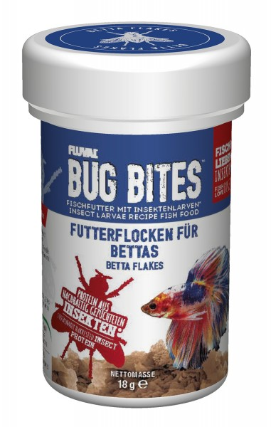 Bug Bites Flakes - Betta Flakes 100ml