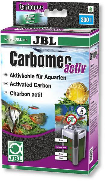 Carbomec activ 400g von JBL zur Filterung von organischen Belastungen und Medikamentenrückständen bei Wiebies Aquawelt