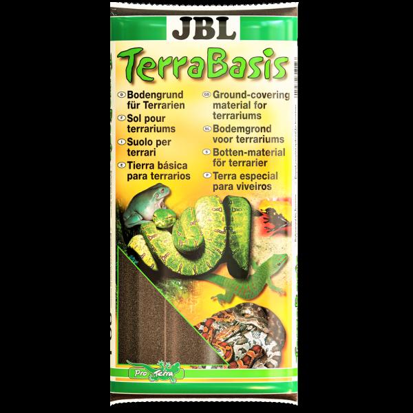 Terra Basis von JBL 20 Liter für Sumpf und Feuchtterrarien für Schnecken, Frösche, Schildgröten und viele mehr