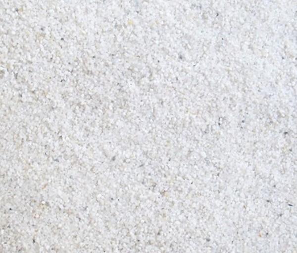 Kies / Sand 0,5-1,4mm weis 2,5 Kg