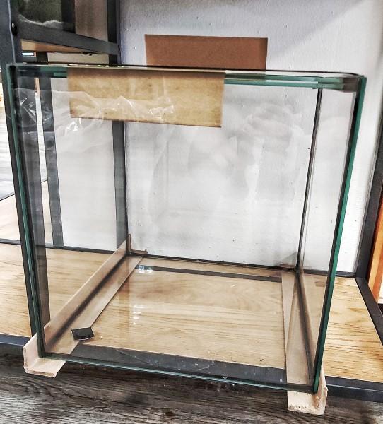 Würfelaquarium 30cm x 30cm x 30cm Für Kampffische, Zwerggarnelen und Schnecken die modernen Nanocubes und Nanoaquarien mit 27 Litern