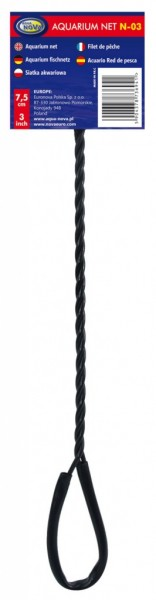 Aqua Nova N-03 7,5cm Fangnetz Kescher für Aquarienfische bei Wiebies Aquawelt