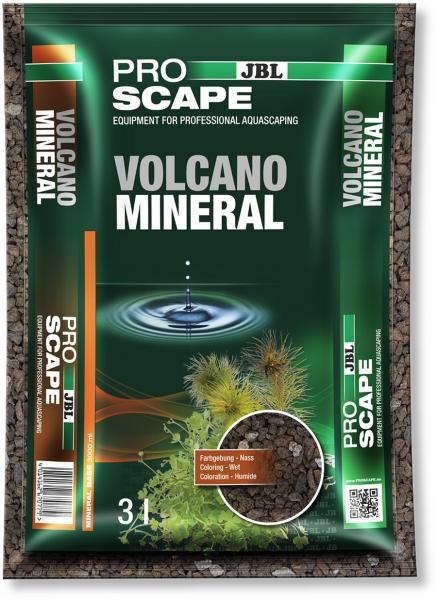 Vulcano Mineral 3 Liter , der Lavabodengrund von JBL für das Aquascape und Sulawesibecken bei Wiebies Aquawelt