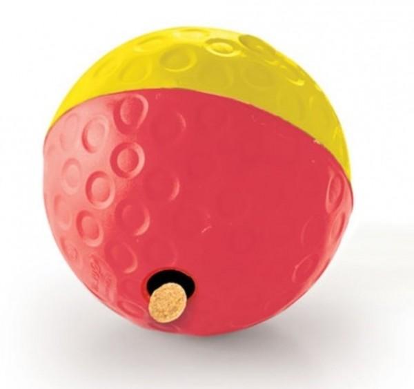 intelligenzball für Hunde, Hundespielbahl mit Futteröffnung für mittlere bis große Hunde