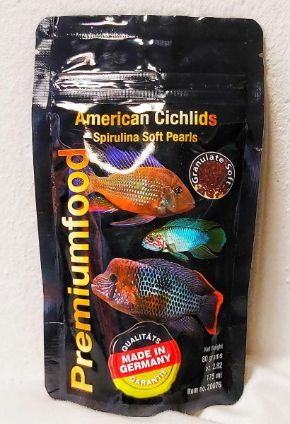 South America Cichlid Pearls 80g