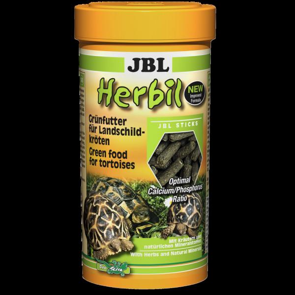JBL Herbil 250ml das Schildkrötenfutter für eine gesunde Schildkröte zu Land und zu Wasser