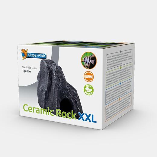 Ceramic Rock XXL die natürliche Ceramicdeko als Stein getarnt für Barsche und Welse als optimales Versteck