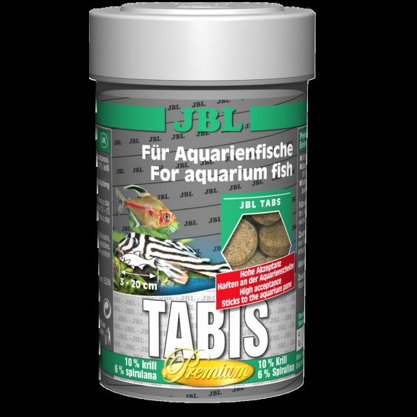 Tabis 100ml die Welstabs für gesunde Fische mit Krill und Spirulina von JBL bei Wiebies Aquawelt