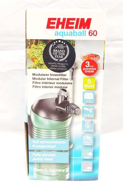 Eheim Aquaball 60 der Aquarium Innenfilter für kleine Aquarien online kaufen.