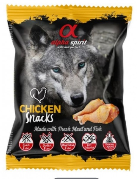 alpha spirit Dog Snack Huhn 85% Fleisch