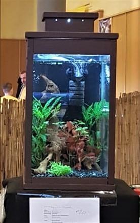 Laternenaquarium 25 Liter  Sonderanfertigung