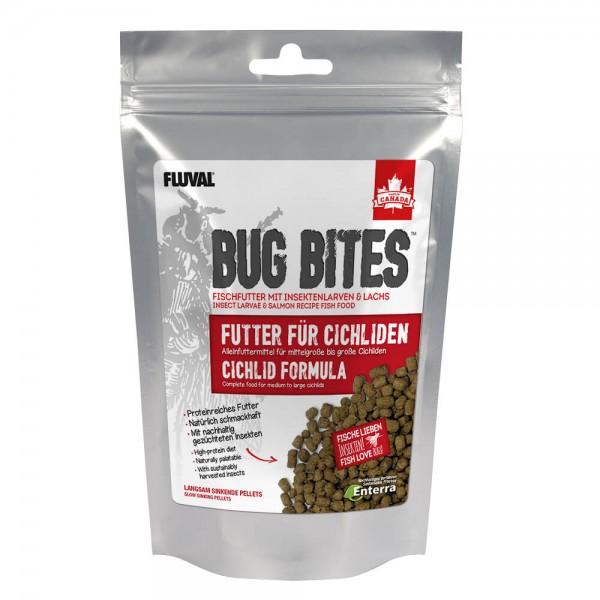Bug Bites für Cichliden 45g, Barschfutter mit Insekten aus der Natur, Granulatfutter von Fluval in top Qualität