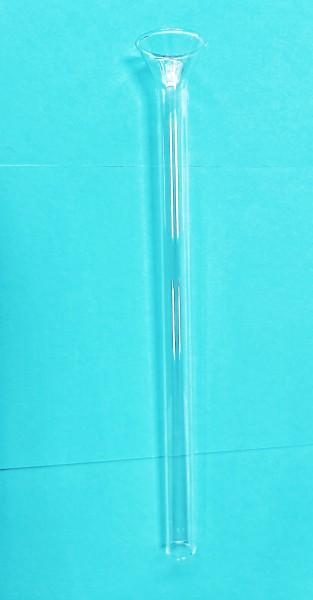 Futterrohr aus Glas 25cm