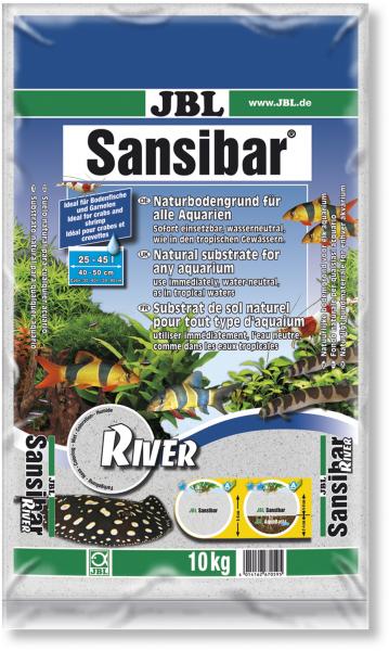 Sansibar River 10kg der natürliche helle Bodengrund von JBL bei Wiebies Aquawelt