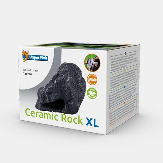 Ceramic Rock XL die natürliche Ceramicdeko als Stein getarnt für Barsche und Welse als optimales Versteck
