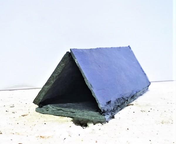 Schieferhöhle Dreieckig 4cm x 2,5cm x 11cm