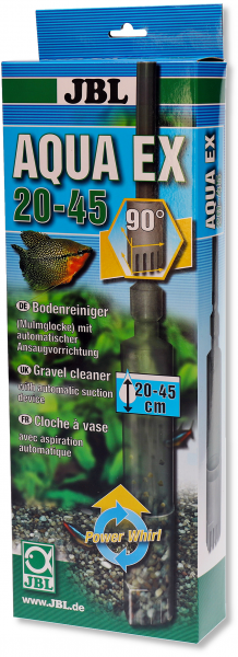 AquaEx Set 20-45 cm von JBL die fortschrittliche Mulmglocke und Bodenreinigung mit Sicherheit bei Wiebies Aquawelt