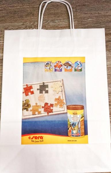 Sera Papiertragetasche für den guten Einkauf optimal transportiert