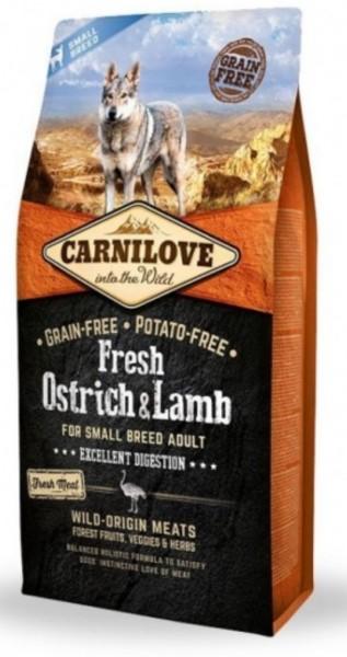 Carnilove Ostrich und Lamb 6kg Hundefutter Trockenfutter Nassfutter für Hunde von Carnilove das gesund Hundefutter