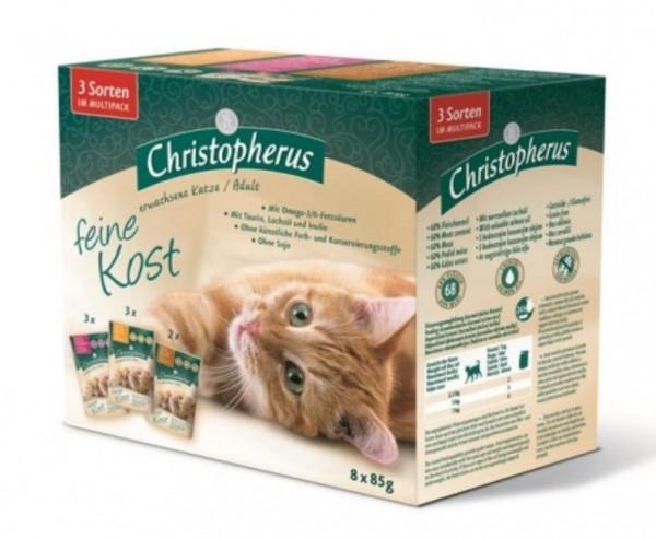 Christopherus Katzenfutter Lamb wild Boar gedreitefreies Katzenfutter kaufen für des Beste Katzen Nassfutter Futter für Ihre Katze