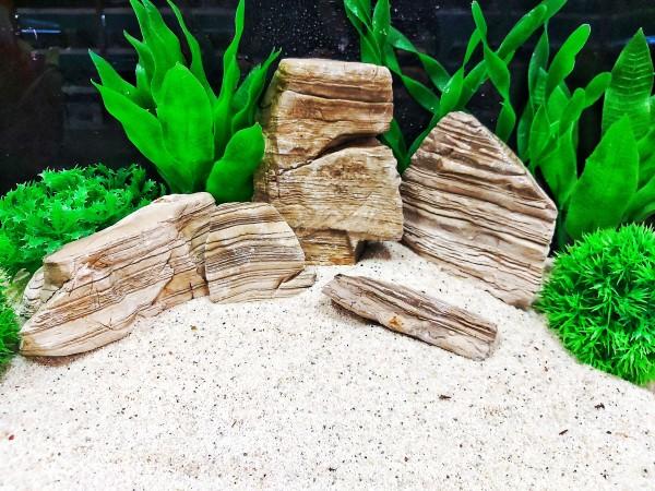 Tower Rocks und Pagodenstein Karamell Pebbels Roter Regenbogen Jasper Green African Steine, grüner Stein und blauer Sodalith sowie Drachenstein und vieles mehr bei Wiebies Aquawelt, das perfekte Hardscape für Aquascaper