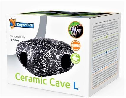 Ceramic Cave L die natürliche Ceramicdeko , Ceramikhöhle für Barsche und Welse mit natürlichen design