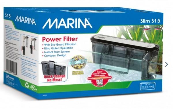 Marina Slim s15 Rucksackfilter Power Filter Für kleine Aquarien Aquariuminnenfilter online kaufen