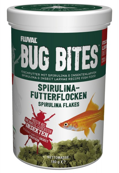 Bug Bites Flakes - Spirulina Flakes 1000ml