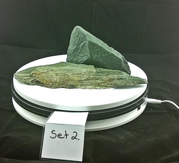 Green Stone, Afrika Stone, Grüne Steine Aquarium Dekoration, Drachensteine, Pagoden und viele mehr...