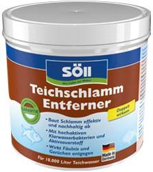 Teichschlammentferner 500g von Söll für die Reinigung von Teichgrund