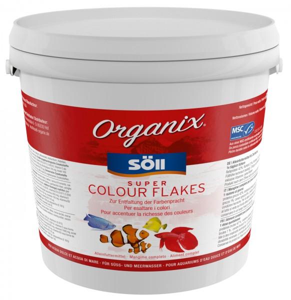 Söll Clour Flakes 5000ml Pellets Fischfutter Kelp, Spirulina Welsfutter Bodenfutter Soell