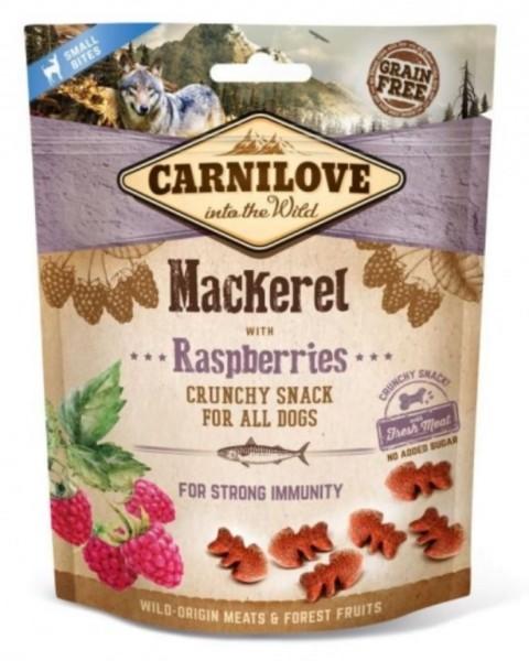 Carnilove Dog Crunchy Snack - Mackerel / Raspberries