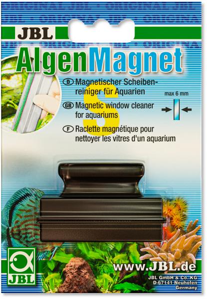 Algenmagnet S von JBL für kleine Aquarien zur Scheibenreinigung und Algenentferung bei Wiebies Aquawelt