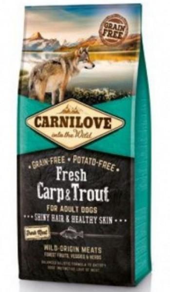 Carnilove Carp und Trout 1,5kg Hundefutter Trockenfutter Nassfutter für Hunde von Carnilove das gesund Hundefutter