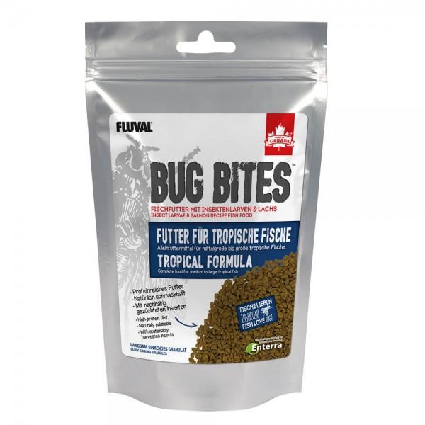 Fluval Bug Bites 125g für Tropische Fische, Zierfischfutter mit hoher Qualität und Aktzeptanz