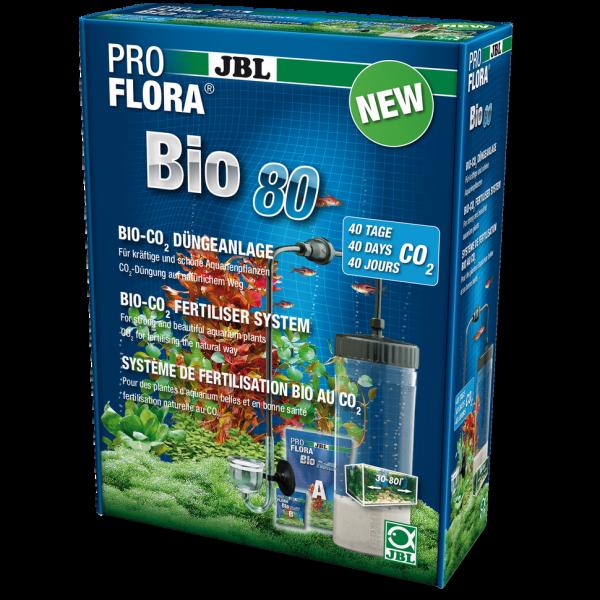 Pro Flora Bio 80 die einfache Bio Co2 Anlage von JBL für Aquarien von 30-80 Liter bei Wiebies Aquawelt