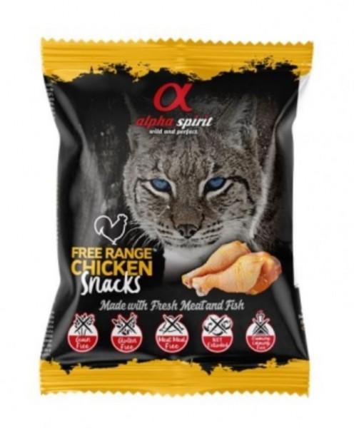 alpha spirit Cat Snack Huhn 85% Fleisch