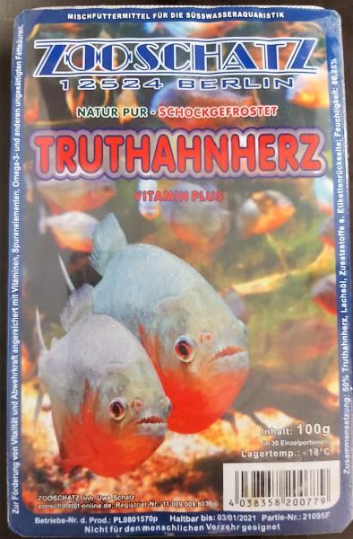 Truthanherz das Frostfutter für Raubfische und fleischfresser