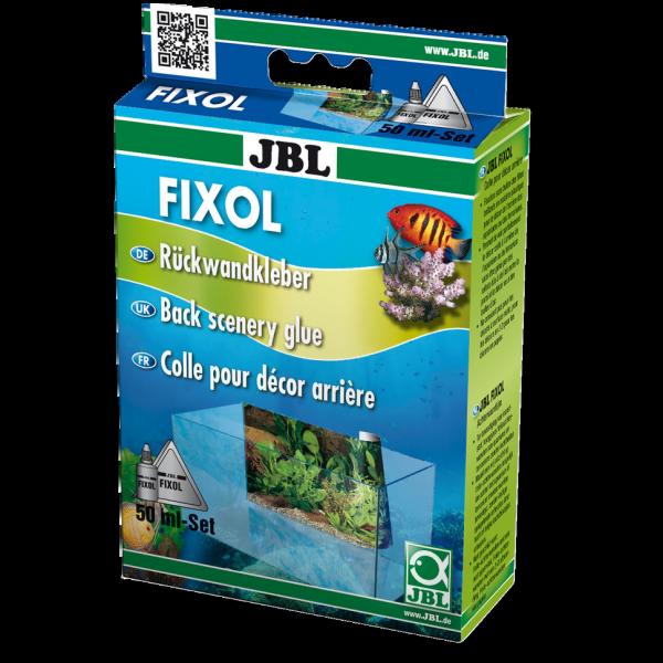 JBL Fixol der Folienkleber für Folienrückwände von Aquarien und Terrarien