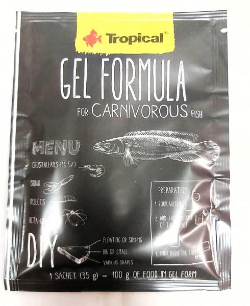 Gel Formula von Tropical - Puddingfutter