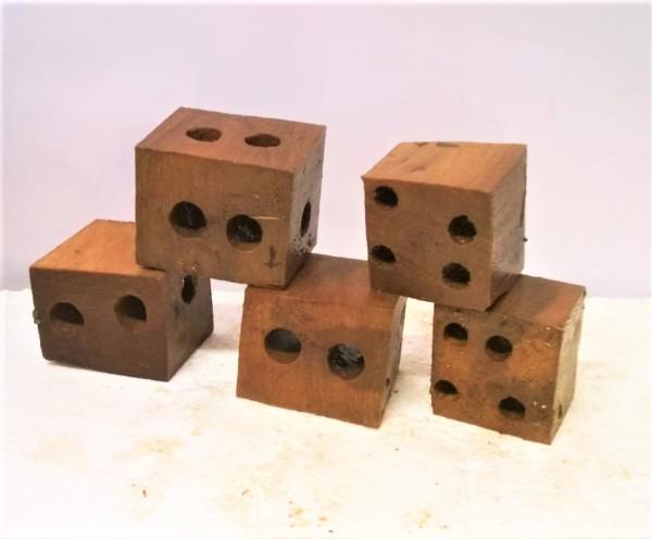 Erlenholzwürfel Garnelenwürfel Zwerggarnelen Dekoration für das Aquarium aus Handgefertigten Stücken wählen. Soderanfertigungen Möglich