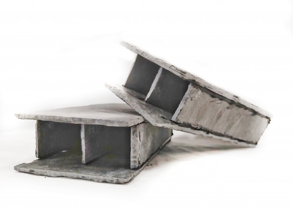 Doppelhöhle eckig - 4,5cm x 4cm x 14cm