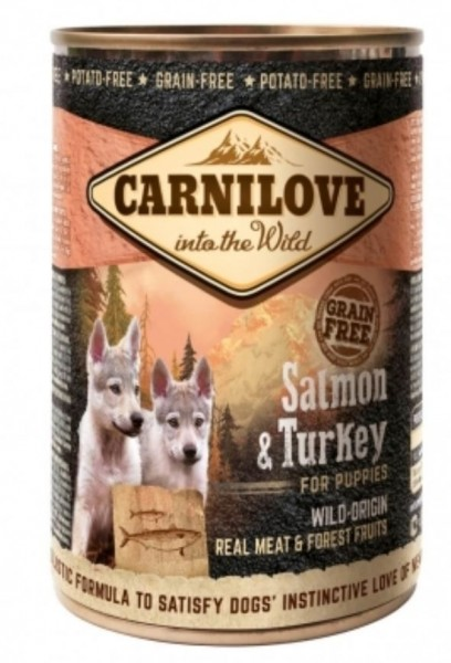 Carnilove Salamon Puppy 400g Hundefutter Nassfutter für Hunde von Carnilove das gesund Hundefutter