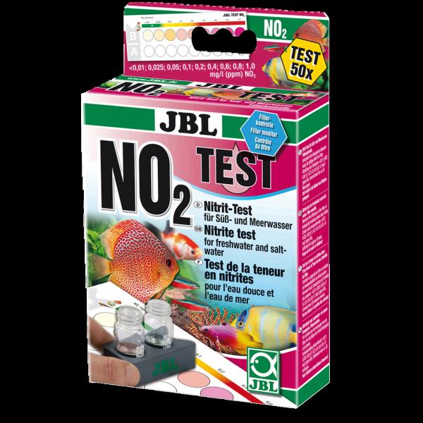 No2 Nitrit Wassertest von JBL für die sichere Bestimmung von giftigen Nitrit in Süß und Salzwasser für Aquarien bei Wiebies Aquawelt top Wassertest