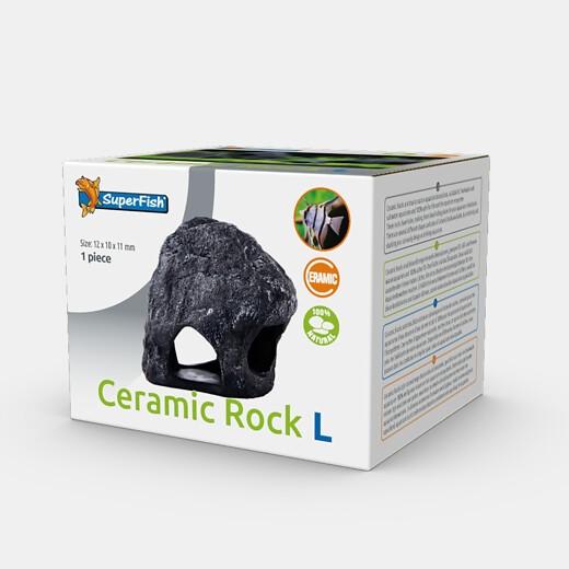Ceramic Rock L die natürliche Ceramicdeko als Stein getarnt für Barsche und Welse als optimales Versteck