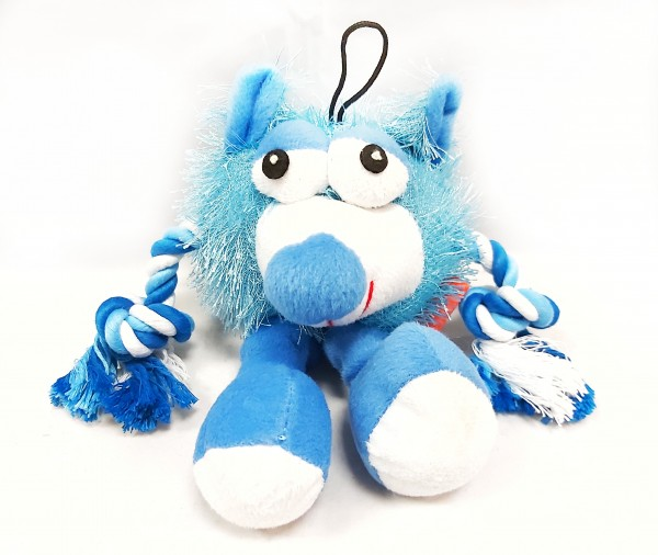 Plüschmonster blau