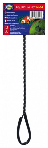 Aqua Nova N-04 10cm Fangnetz Kescher für Aquarienfische bei Wiebies Aquawelt