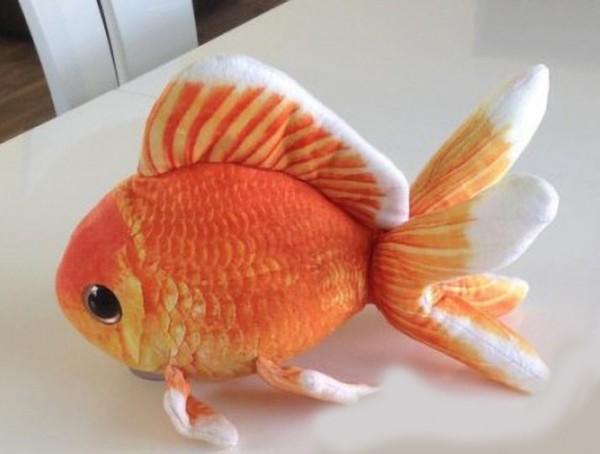 GreenPleco Goldfish - Plüsch Goldfisch