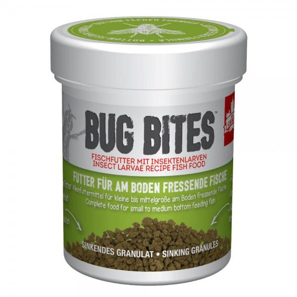 Bug Bites für Bodenfische 45g, Bodengranulat, Granulat mit Insektenanteil für Bodenfische